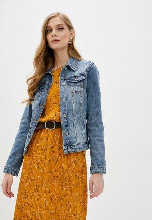 Куртка джинсовая Mossmore. Цвет: голубой