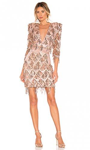 Коктейльное платье savoy Zhivago. Цвет: румянец