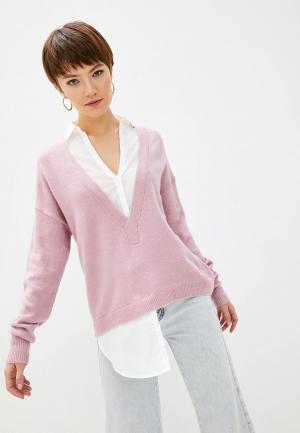 Пуловер Patrizia Pepe. Цвет: розовый