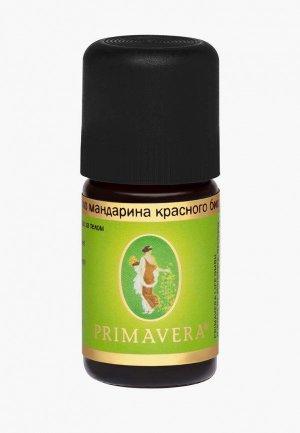 Масло эфирное Primavera Life мандарина красного био, 5 мл. Цвет: прозрачный