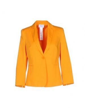 Пиджак AKRIS PUNTO. Цвет: оранжевый