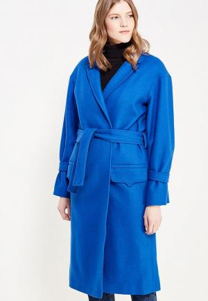 Пальто Soeasy de Vincennes Blue. Цвет: синий