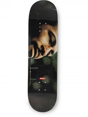 Доска для скейтборда Marvin Gaye Supreme. Цвет: черный