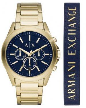 Наручные часы ARMANI EXCHANGE. Цвет: золотистый