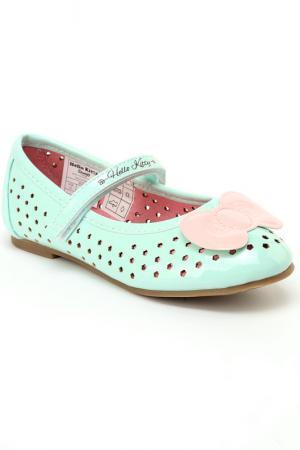 Туфли Hello Kitty. Цвет: бирюзовый