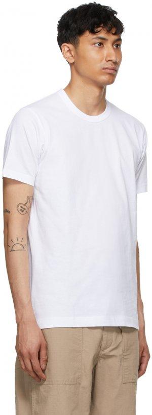 White Forever T-Shirt Comme des Garçons Shirt. Цвет: 4 white