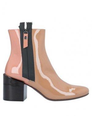 Полусапоги и высокие ботинки AGL ATTILIO GIUSTI LEOMBRUNI. Цвет: голубиный серый
