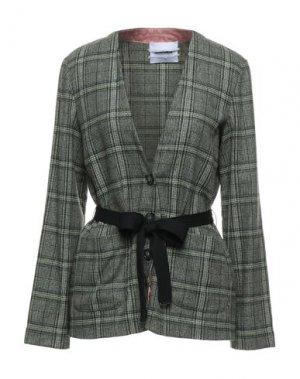 Пиджак BRAND UNIQUE. Цвет: светло-зеленый