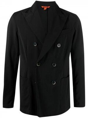 Двубортный пиджак Barena. Цвет: черный