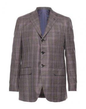 Пиджак KITON. Цвет: коричневый