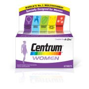 Женские поливитамины Women Multivitamin Tablets - (60 таблеток) Centrum