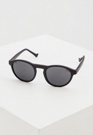 Очки солнцезащитные Emporio Armani EA4138 504287. Цвет: черный