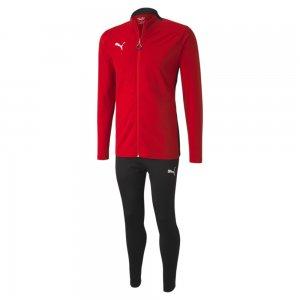 Спортивный костюм ftblPLAY Mens Tracksuit PUMA. Цвет: красный