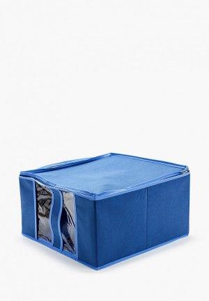 Короб для хранения Prima House. Цвет: синий