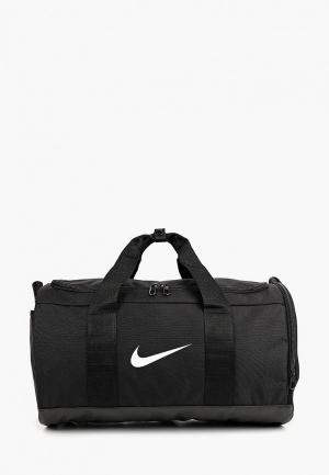 Сумка спортивная Nike TEAM WOMENS TRAINING DUFFEL BAG. Цвет: черный