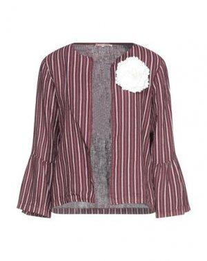 Пиджак FRACOMINA. Цвет: красно-коричневый