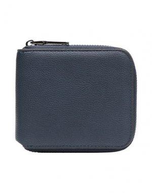 Бумажник 8 by YOOX. Цвет: синий