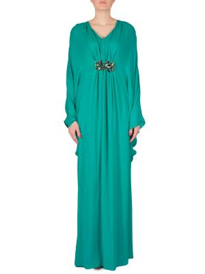 Платье ISSA London. Цвет: бирюзовый