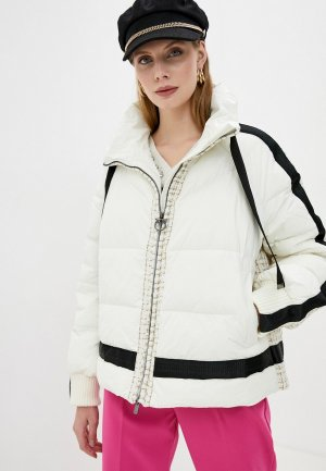 Куртка утепленная Pinko. Цвет: белый