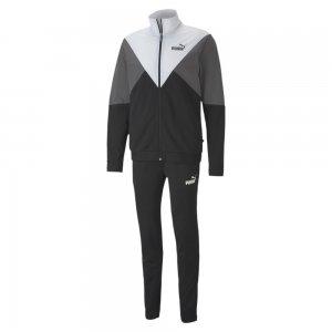 Спортивный костюм Retro Track Suit PUMA. Цвет: черный