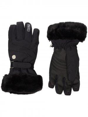 Непромокаемые перчатки с искусственным мехом Colmar. Цвет: черный