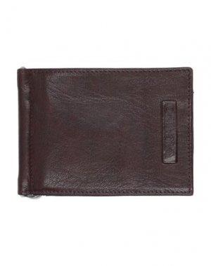 Бумажник VALENTINO di MARIO. Цвет: темно-коричневый