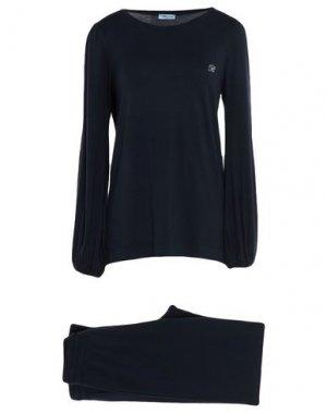 Пижама BLUMARINE. Цвет: темно-синий