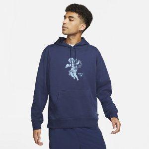 Худи с графикой для скейтбординга SB - Синий Nike