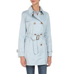 Пальто W0220F голубой GEOX