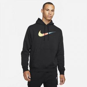 Мужская худи с начесом на изнаночной стороне Sportswear - Черный Nike