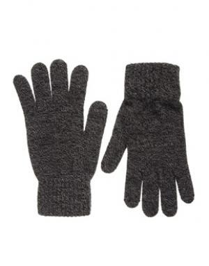 Перчатки French Connection. Цвет: серый
