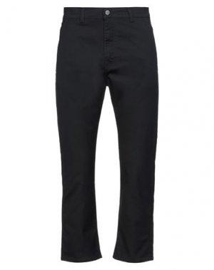 Повседневные брюки EDWIN. Цвет: черный