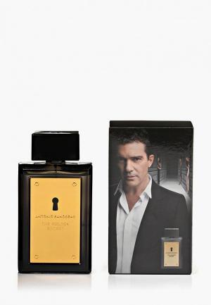 Туалетная вода Antonio Banderas Golden Secret Men 100 мл. Цвет: белый
