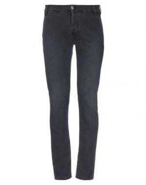 Джинсовые брюки 2 MEN. Цвет: черный