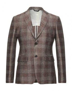 Пиджак BRIAN DALES. Цвет: коричневый