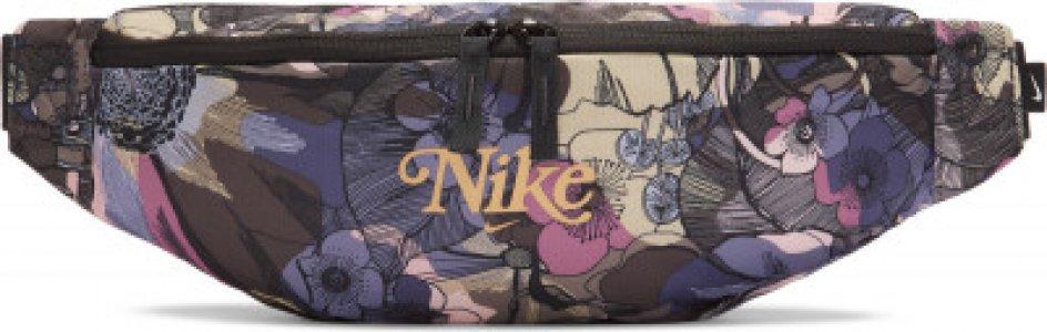 Сумка на пояс женская Heritage Nike. Цвет: разноцветный