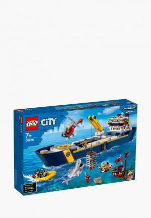 Конструктор LEGO Ocean Exploration Ship. Цвет: разноцветный