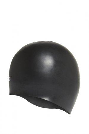 Шапочка для плавания SIL CAP adidas. Цвет: черный