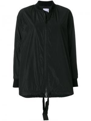 Куртка-бомбер на молнии Aspesi. Цвет: черный
