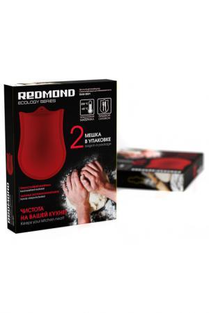 Силиконовый мешок для теста REDMOND. Цвет: красный