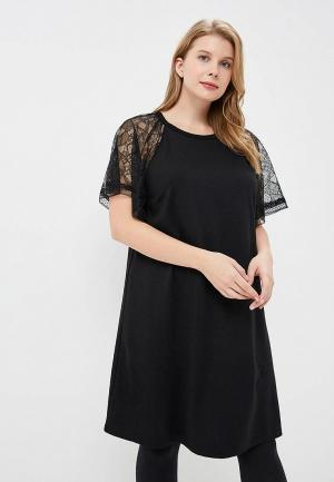 Платье Violeta by Mango - TINA. Цвет: черный