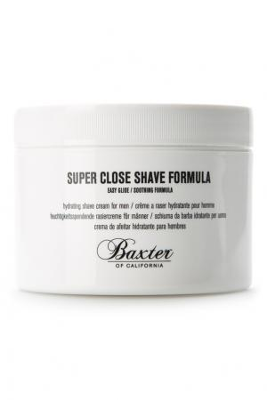 Крем для бритья Super Close Shave Formula, 240 ml Baxter of California. Цвет: без цвета