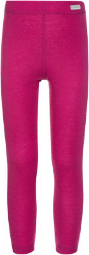 Термобелье низ для девочек , размер 152 Glissade. Цвет: розовый