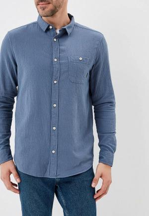 Рубашка Quiksilver. Цвет: синий