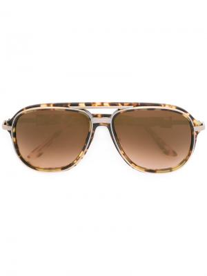 Солнцезащитные очки Cascade Frency & Mercury. Цвет: коричневый