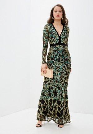 Платье Goddiva. Цвет: разноцветный