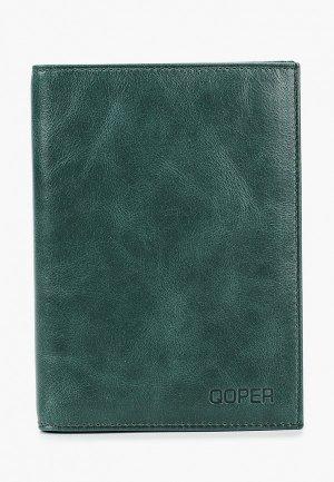 Обложка для документов Qoper. Цвет: зеленый