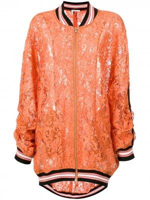 Heidi lace bomber jacket Martha Medeiros. Цвет: желтый
