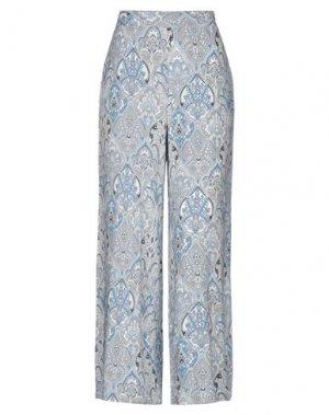 Повседневные брюки B.YOUNG. Цвет: небесно-голубой