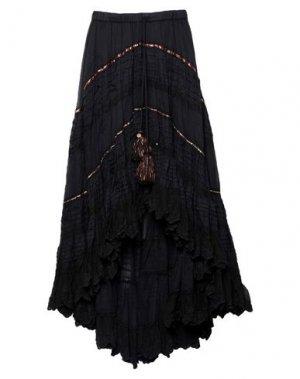Длинная юбка GADO by MARGRIET WAGERAAR. Цвет: черный